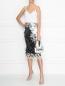 Кожаная сумка декорированная кристаллами и стразами Ermanno Scervino  –  МодельОбщийВид