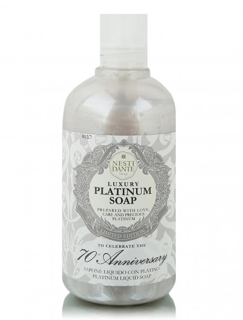 Жидкое мыло Anniversary Platinum  Soap 500мл Bath Line Nesti Dante - Общий вид
