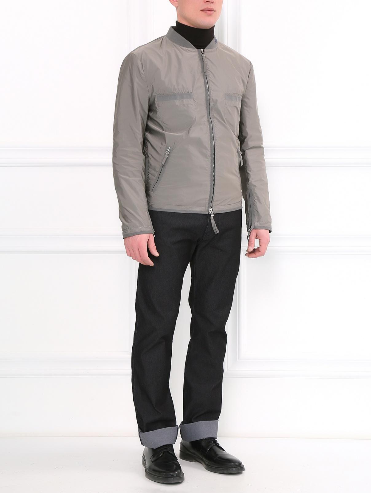 Куртка с боковыми и нагрудными карманами Ermanno Scervino  –  Модель Общий вид
