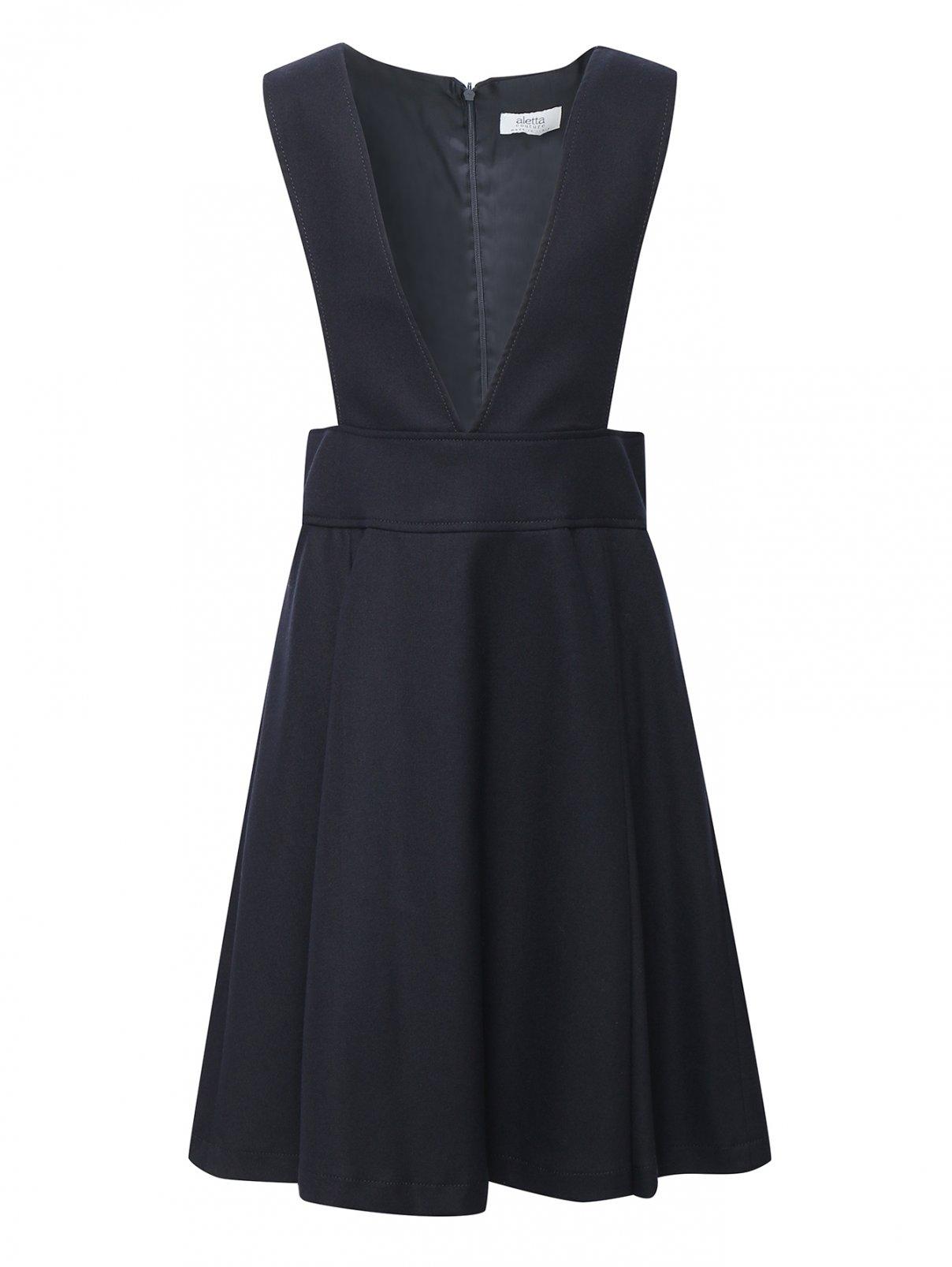 Платье школьное из шерсти Aletta Couture  –  Общий вид