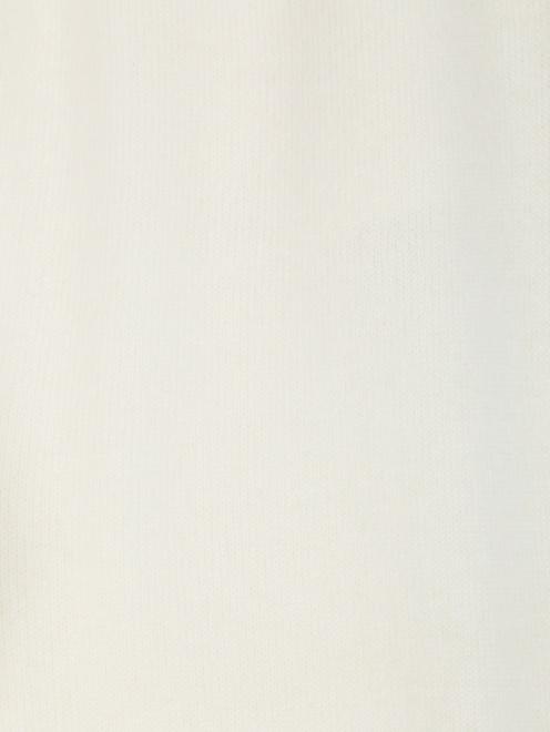 Трикотажные брюки из кашемира на резинке - Деталь