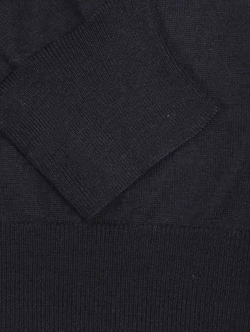Джемпер из шерсти и шелка - Деталь1