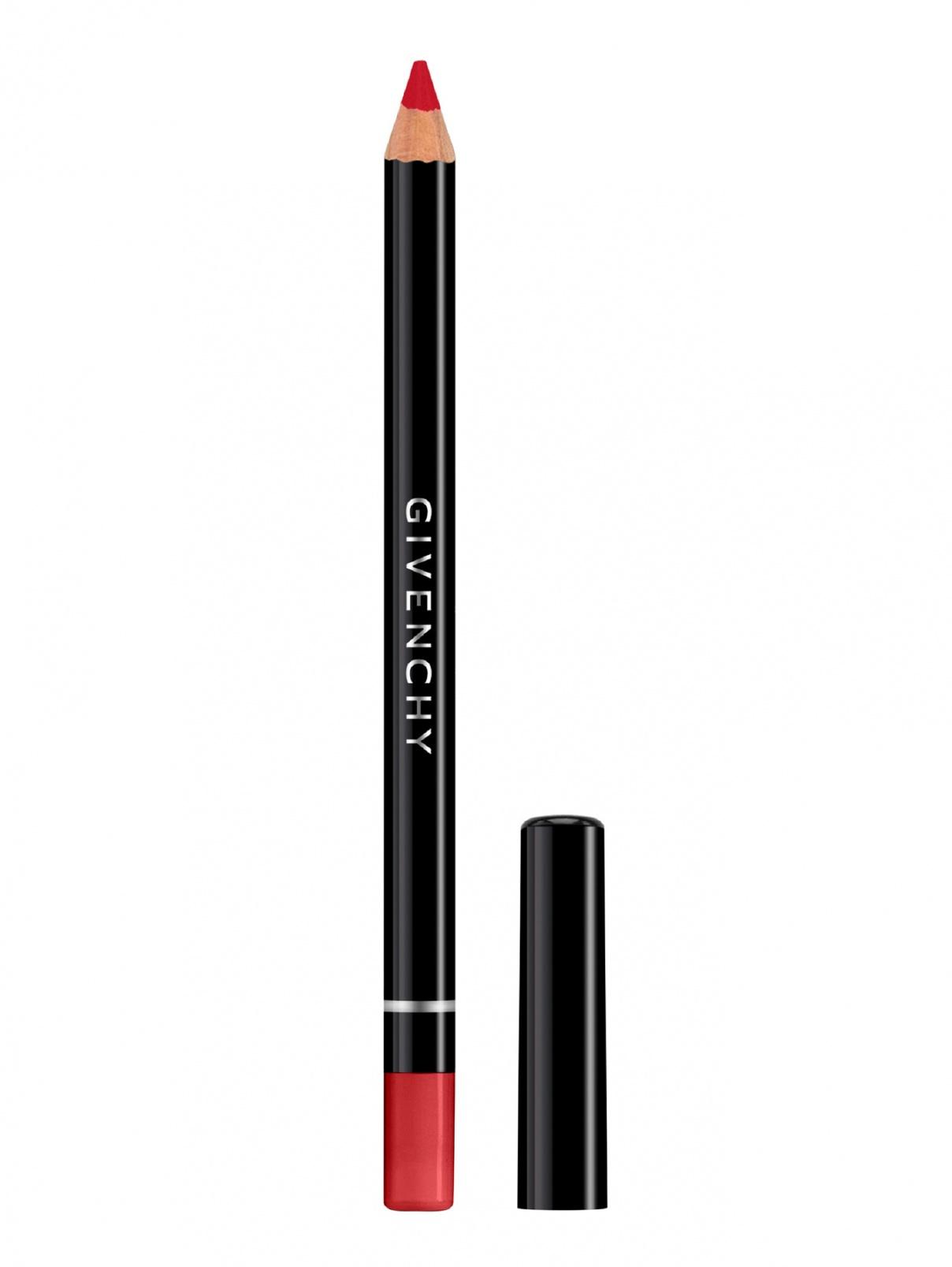 Водостойкий карандаш для контура губ с точилкой LIP LINER, 6 карминовые лодочки, 1.1 г Givenchy  –  Общий вид