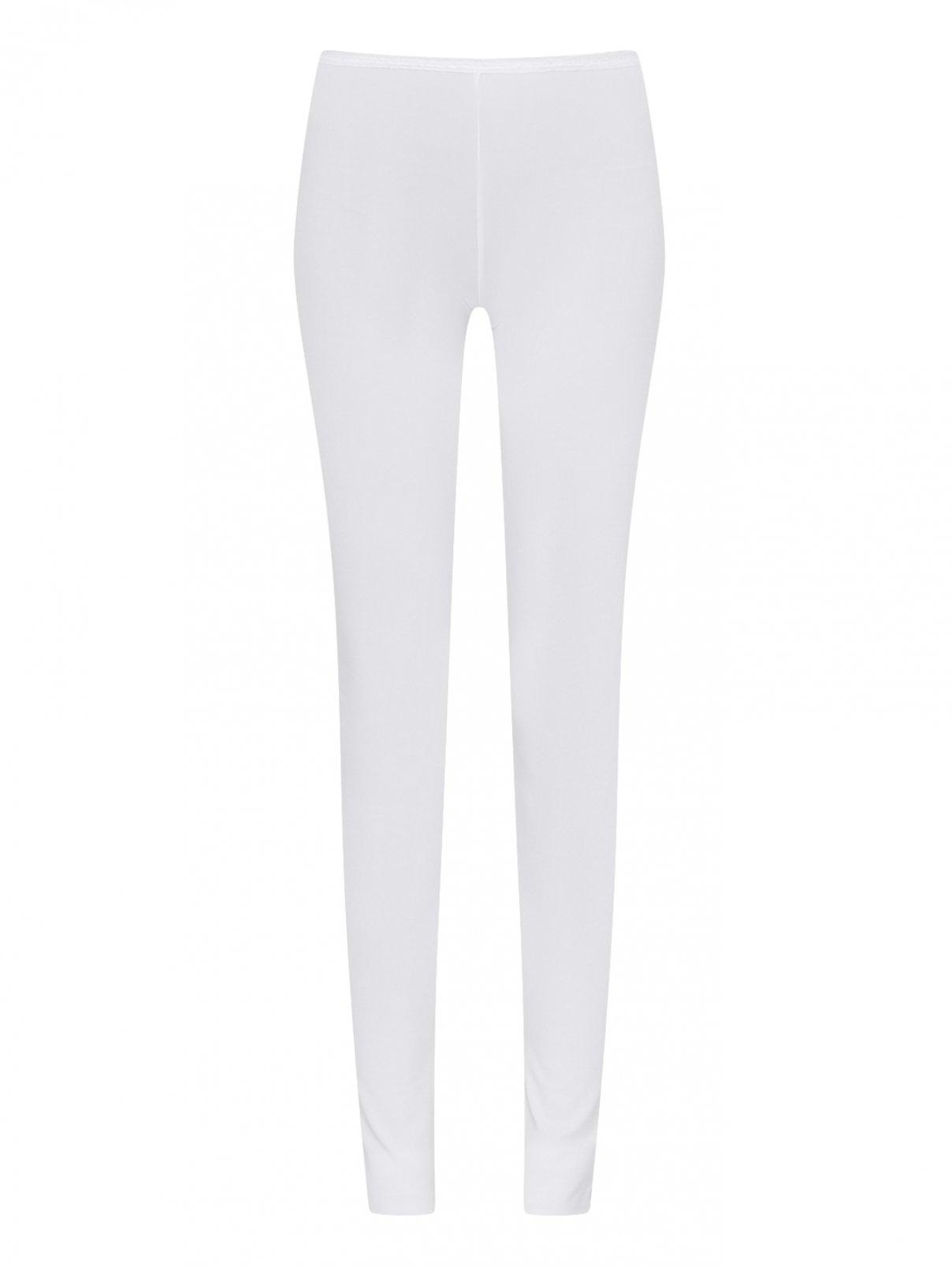 Трикотажные брюки из хлопка La Perla  –  Общий вид