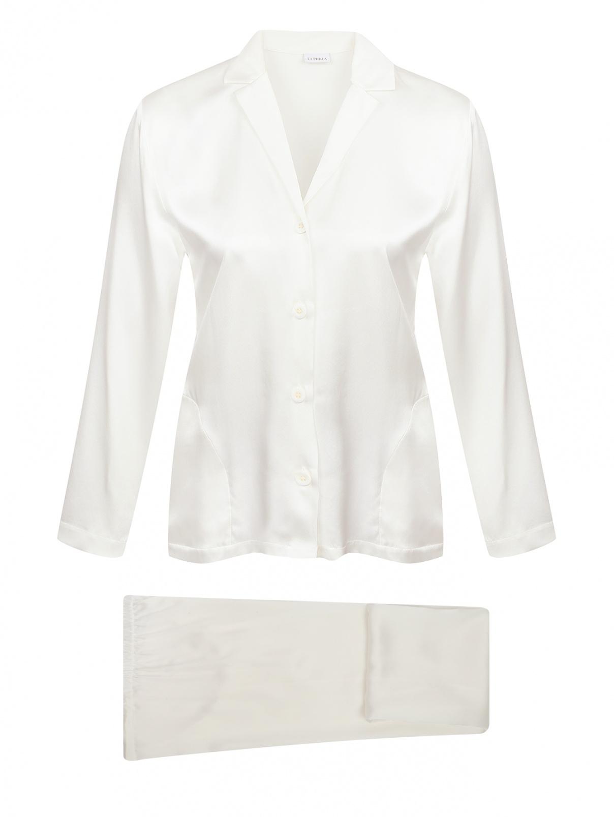 Пижама из шелка свободного кроя La Perla  –  Общий вид