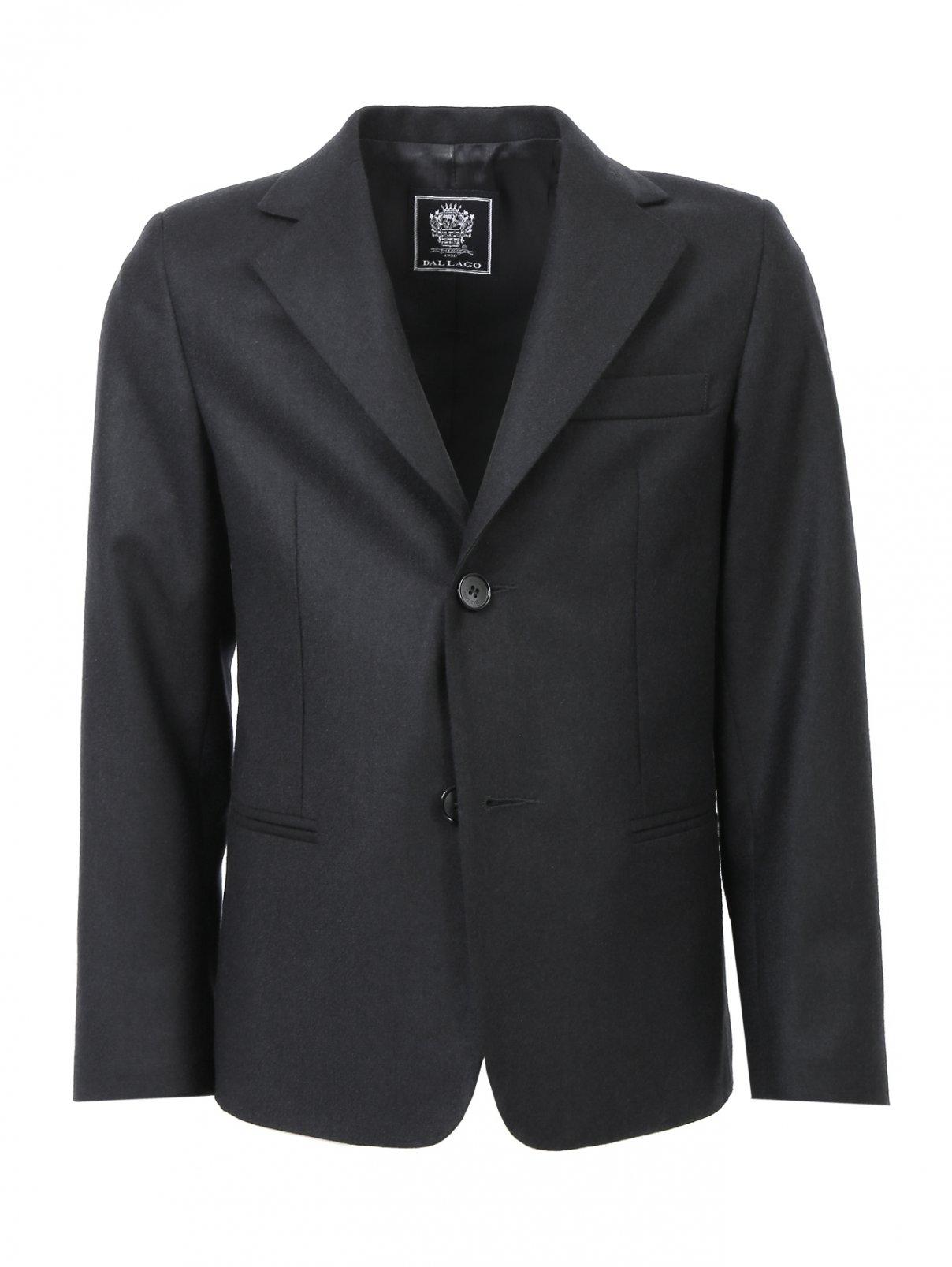 Классический пиджак из шерсти Dal Lago  –  Общий вид