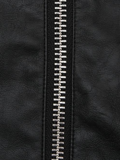 Куртка из эко-кожи в байкерском стиле Freedomday - Деталь