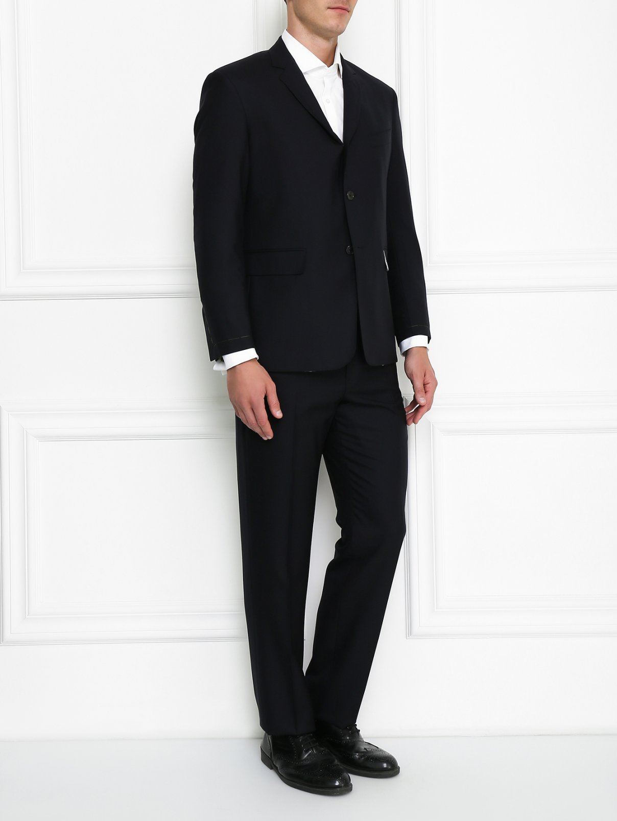 Костюм из шерсти Brooks Brothers  –  Модель Общий вид