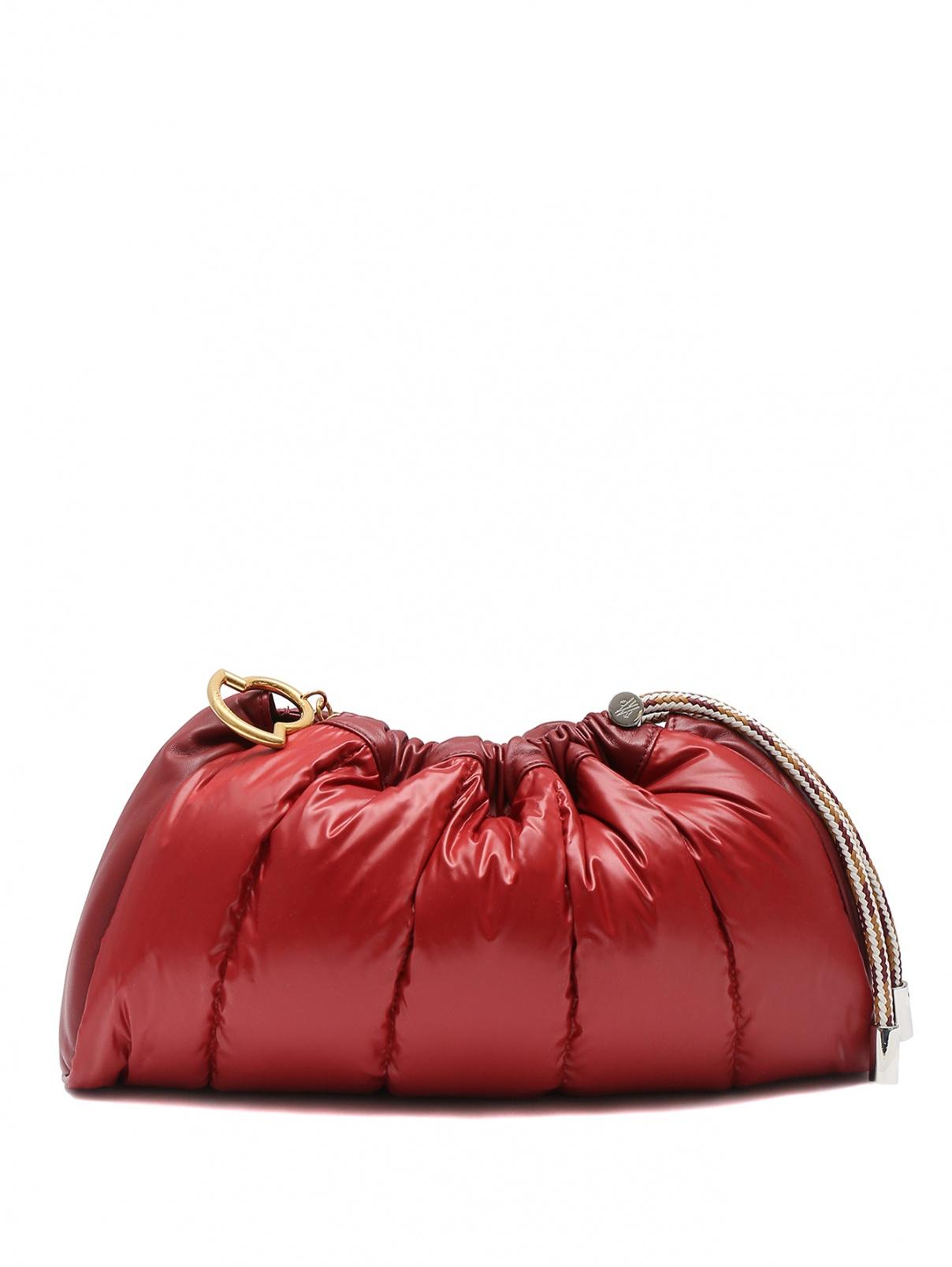 Стеганная сумка из текстиля Moncler  –  Общий вид