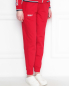 Спортивные брюки из хлопка на резинке и боковыми карманами Bosco Sport  –  МодельВерхНиз