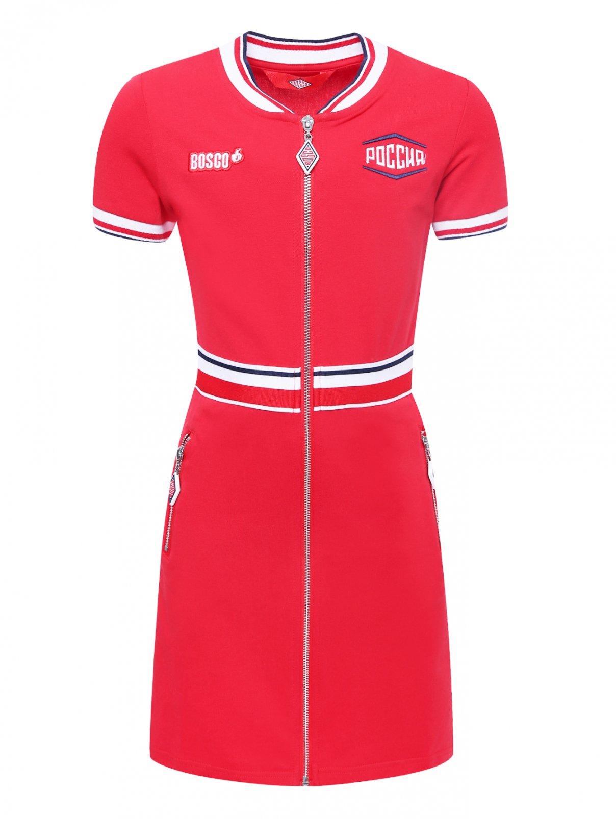 Платье спортивное из хлопка Bosco Sport  –  Общий вид