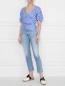 Блуза хлопковая с вышивкой Weekend Max Mara  –  МодельОбщийВид