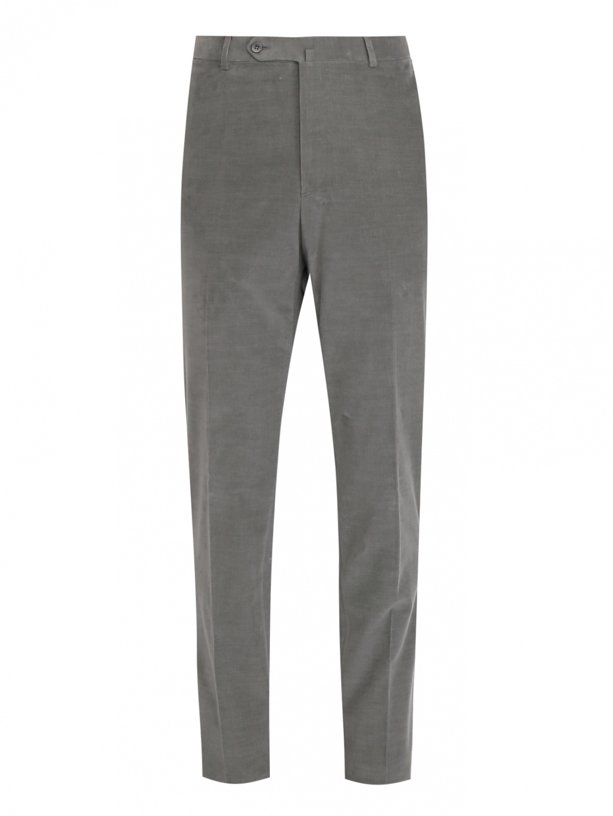 Вельветовые брюки с карманами Isaia  –  Общий вид