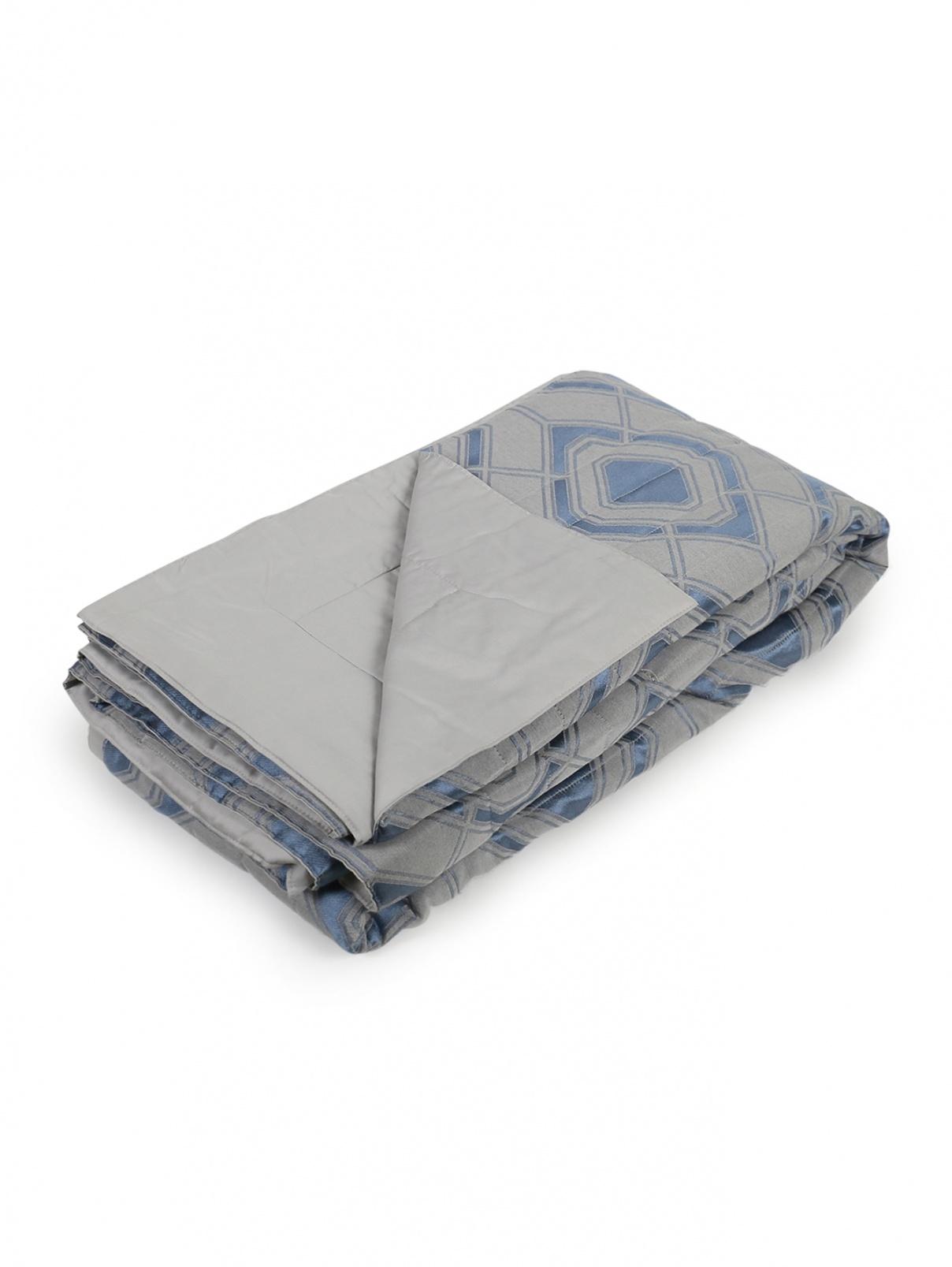 Одеяло из шерсти и шелка с узором 260 x 270 Frette  –  Общий вид