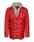 Стеганая куртка с капюшоном и накладными карманами Herno  –  Общий вид