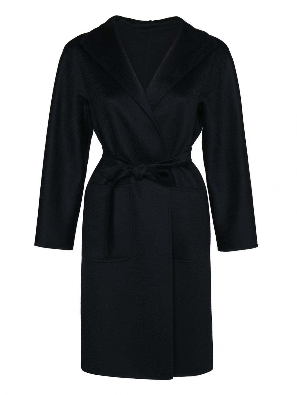 Пальто из кашемира с поясом Max Mara  –  Общий вид