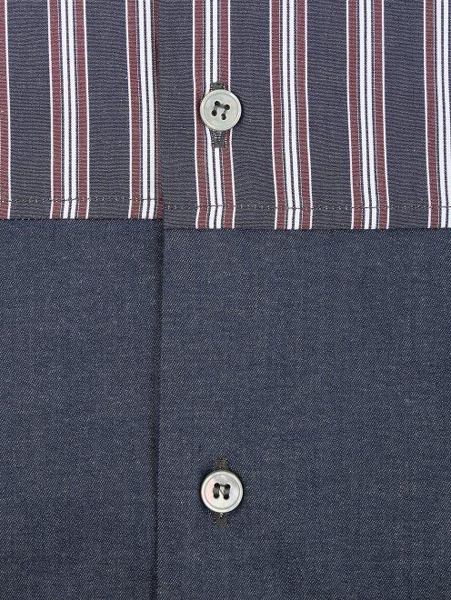 Рубашка из хлопка с коротким рукавом - Деталь1