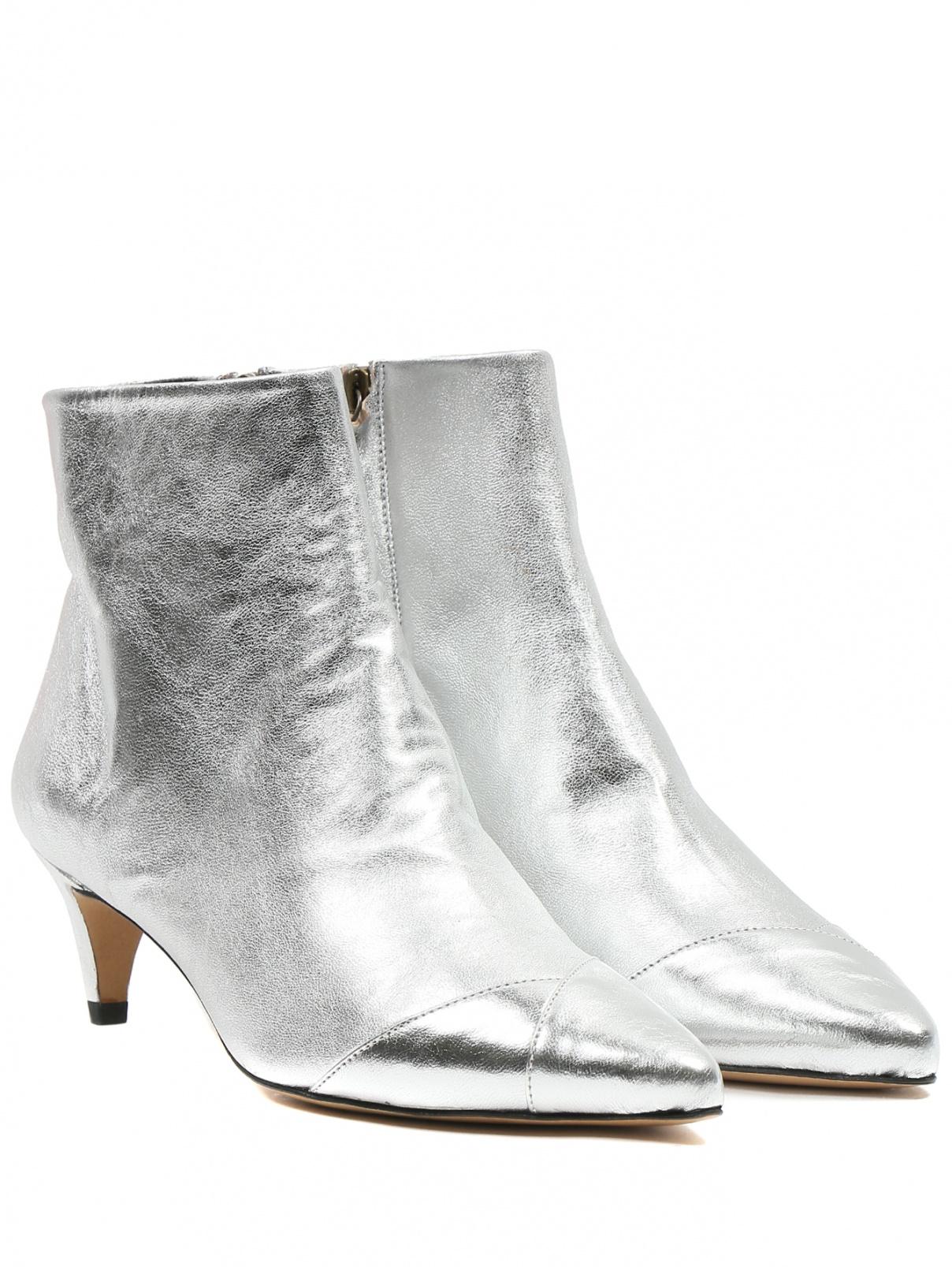 Ботильоны из кожи на низком каблуке Isabel Marant  –  Общий вид