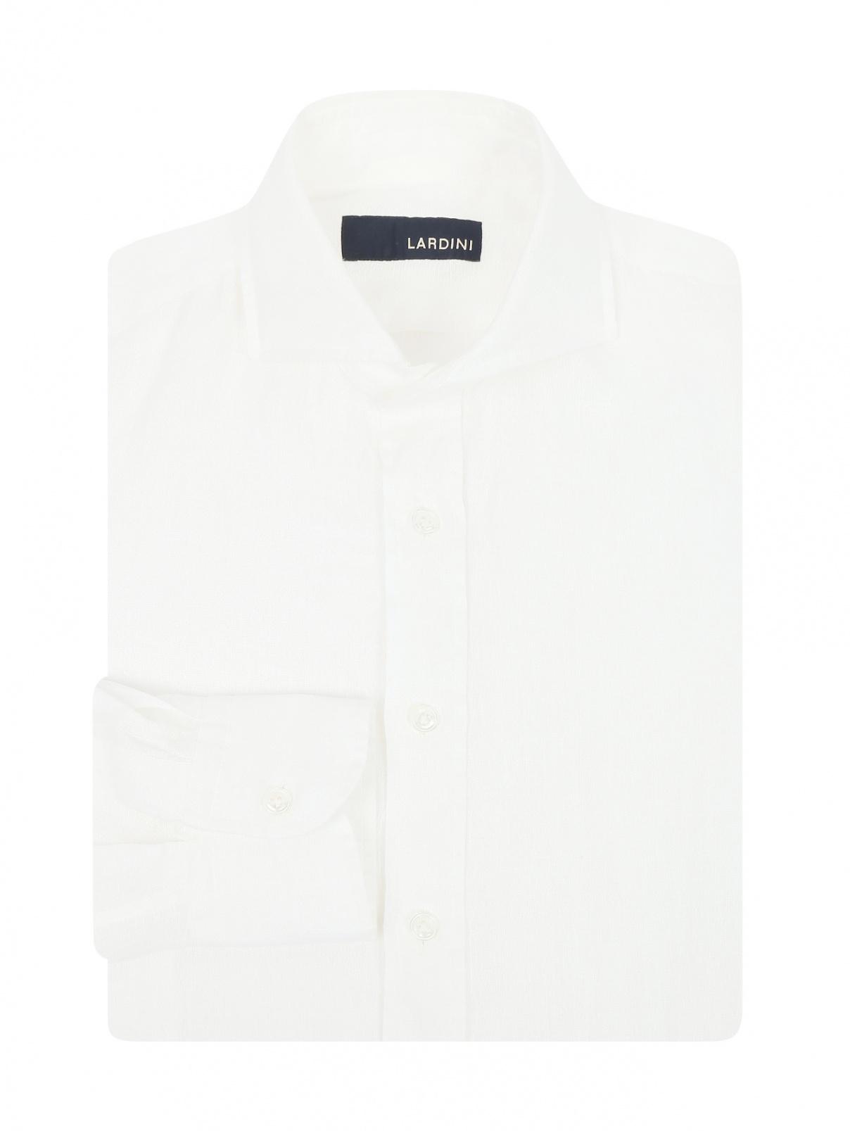 Рубашка из льна LARDINI  –  Общий вид