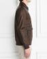 Куртка из кожи с накладными карманами Bosco Fresh  –  МодельВерхНиз2