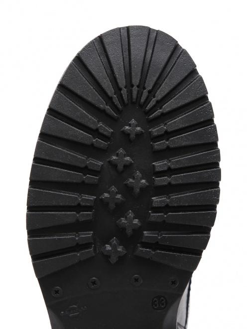 Ботинки кожаные с перфорацией Zecchino d`Oro - Обтравка4