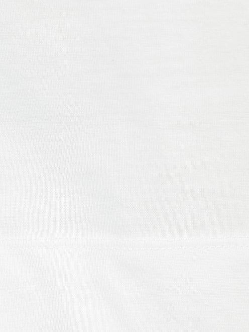 Футболка из хлопка с принтом Limitato - Деталь1