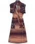 Платье из смешанного хлопка с узором Kenzo  –  Общий вид