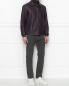 Куртка из кожи на молнии Pal Zileri  –  МодельОбщийВид