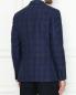 Пиджак из шерсти шелка и льна с узором клетка LARDINI  –  МодельВерхНиз1
