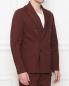 Двубортный пиджак из хлопка Barena  –  МодельВерхНиз