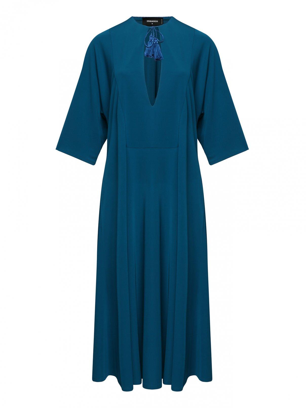 Платье-миди свободного кроя Dsquared2  –  Общий вид