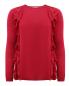 Джемпер из шерсти с воланами из шелка Red Valentino  –  Общий вид