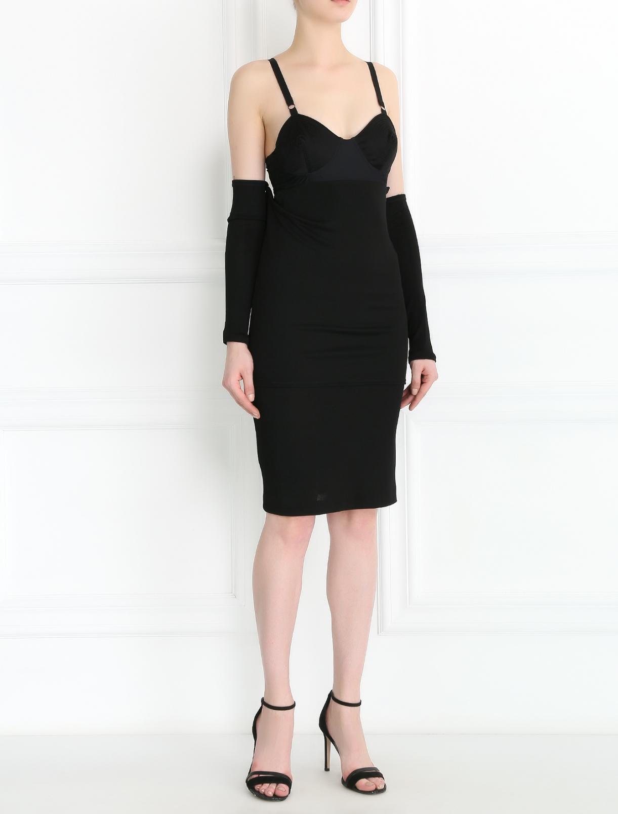 Платье на тонких бретелях Jean Paul Gaultier  –  Модель Общий вид