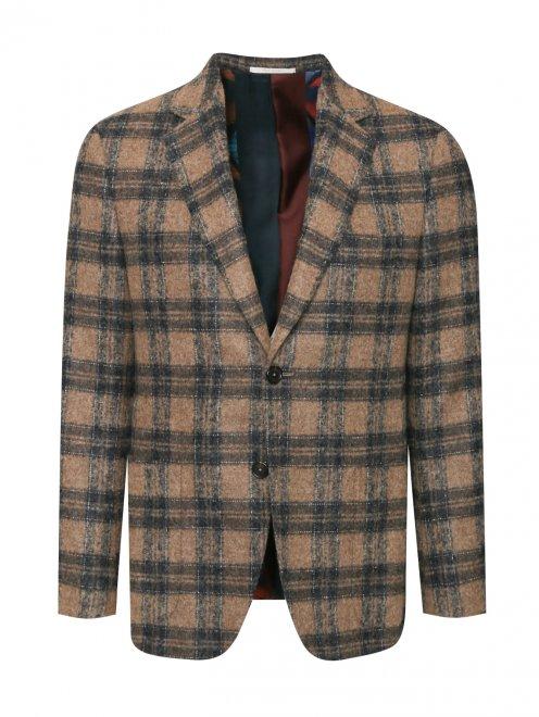 Пиджак из мягкой шерсти - Общий вид