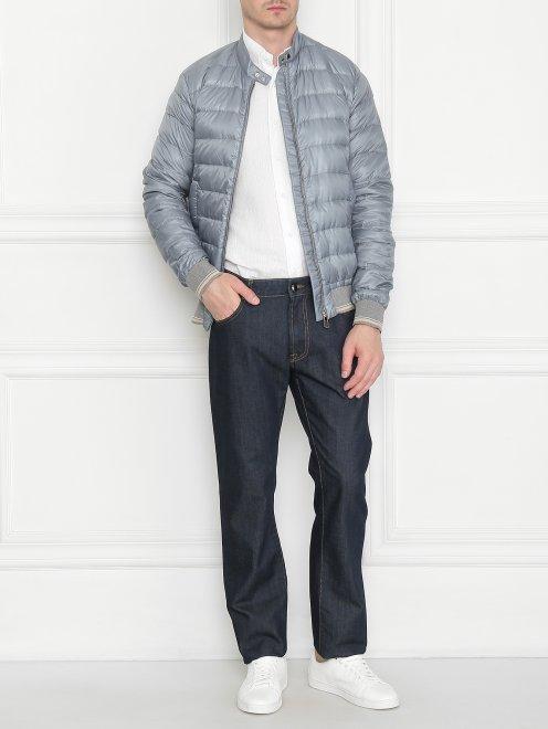 Куртка мужская стеганая - Общий вид