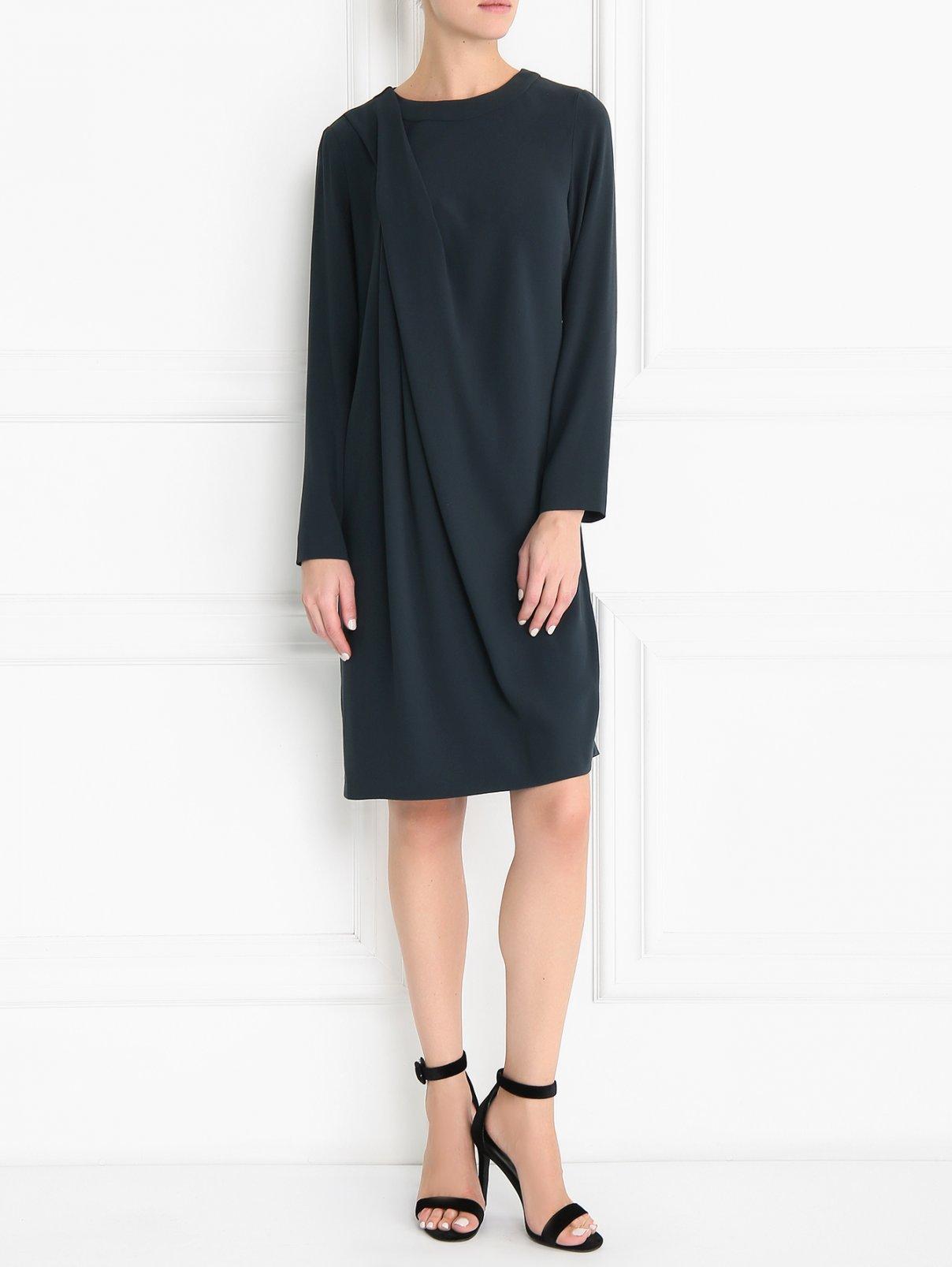 Платье с драпировкой Caractere  –  Модель Общий вид
