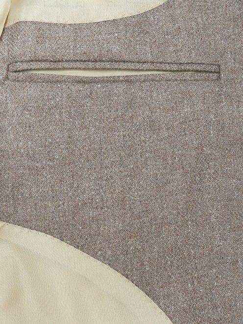 Пиджак из шелка и шерсти - Деталь2