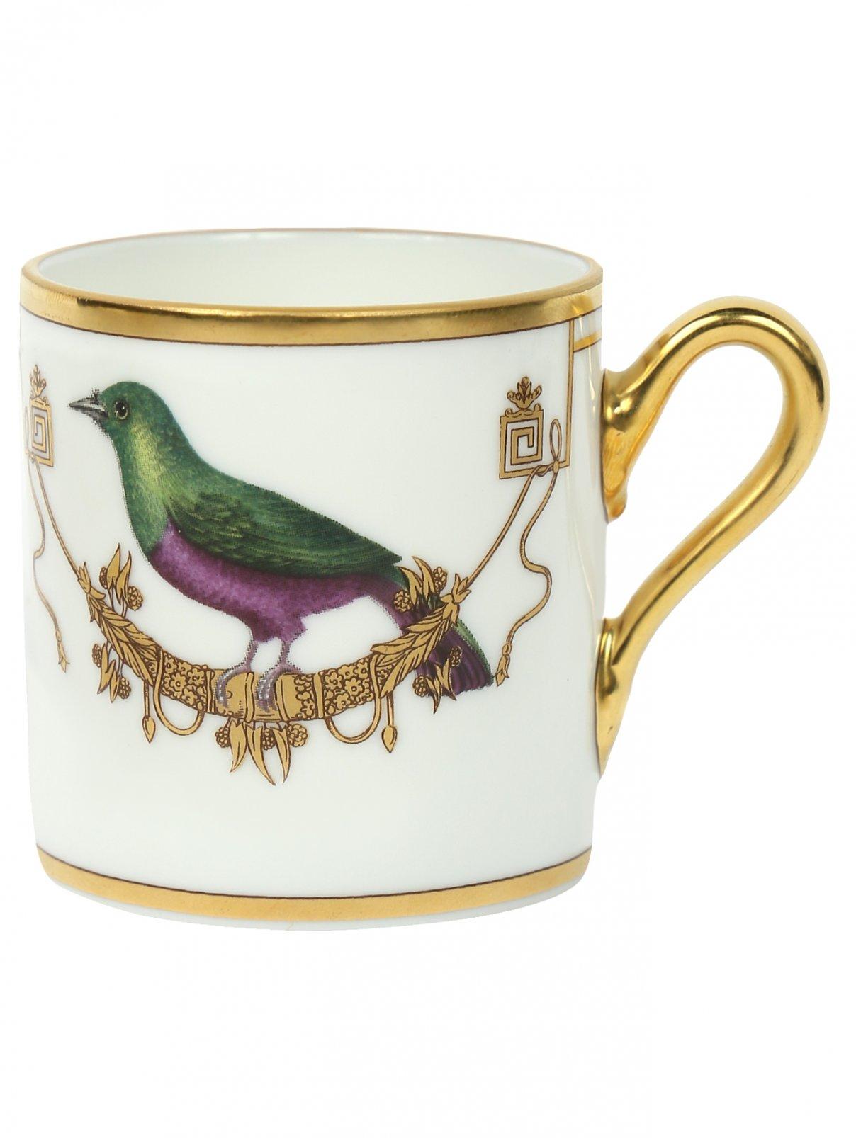 Кофейная чашка с узором Richard Ginori 1735  –  Общий вид