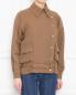 Куртка из льна и шелка с накладными карманами Alberta Ferretti  –  МодельВерхНиз