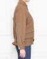 Куртка из льна и шелка с накладными карманами Alberta Ferretti  –  МодельВерхНиз2