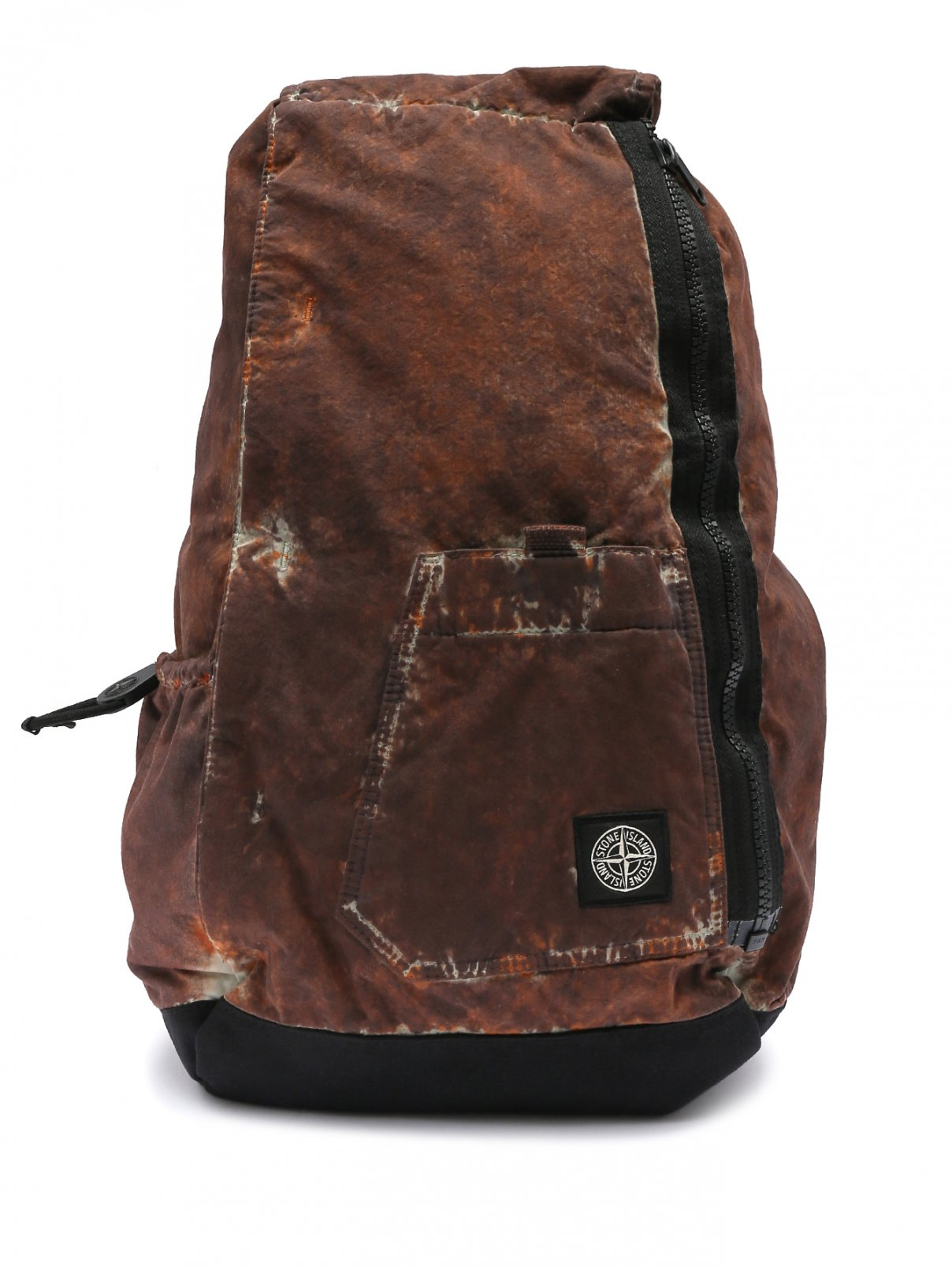 Рюкзак из хлопка на молнии Stone Island  –  Общий вид