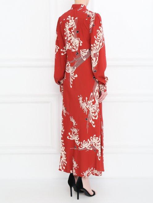Платье с узором - МодельВерхНиз1
