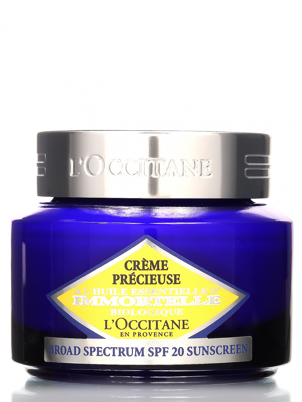 Защитный крем для лица Иммортель - Immortelle, 50ml L'Occitane  –  Общий вид