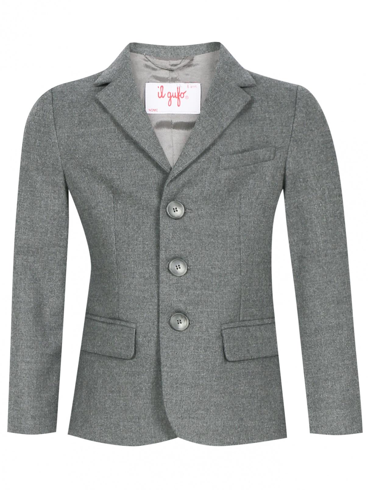 Пиджак однобортный Il Gufo  –  Общий вид