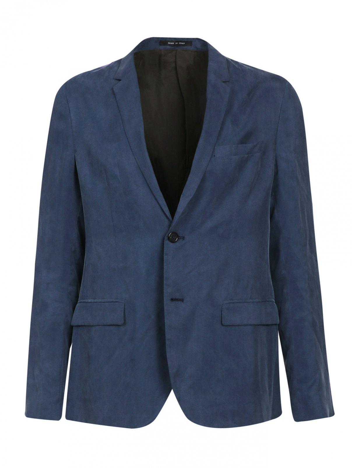 Пиджак узкого кроя с боковыми карманами Emporio Armani  –  Общий вид