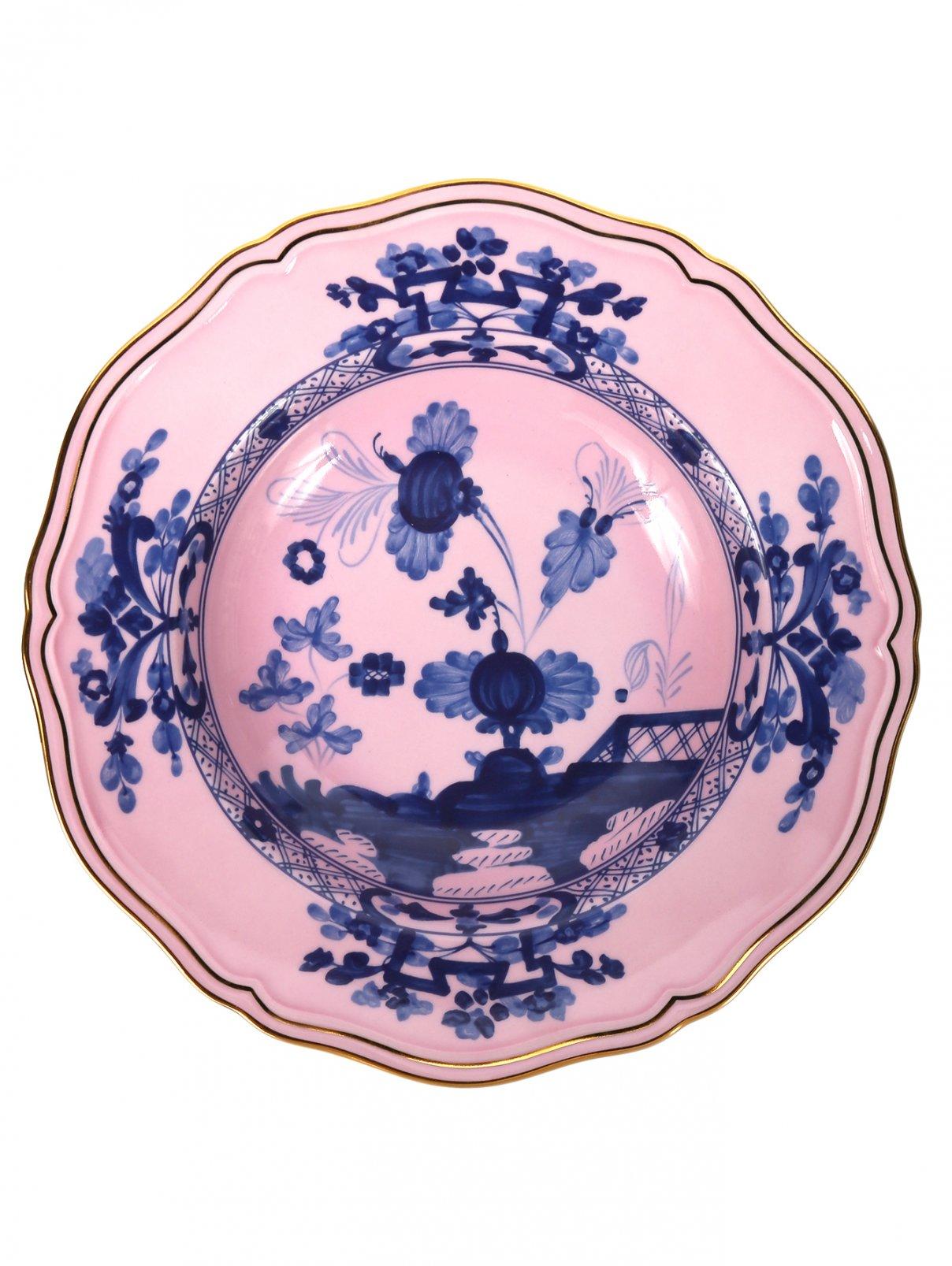 Тарелка суповая с узором Richard Ginori 1735  –  Общий вид