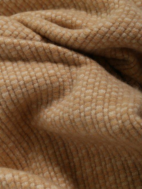 Плед из кашемира с бахромой Agnona - Общий вид