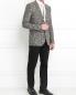 Пиджак из льна с узором Paul Smith  –  Модель Общий вид