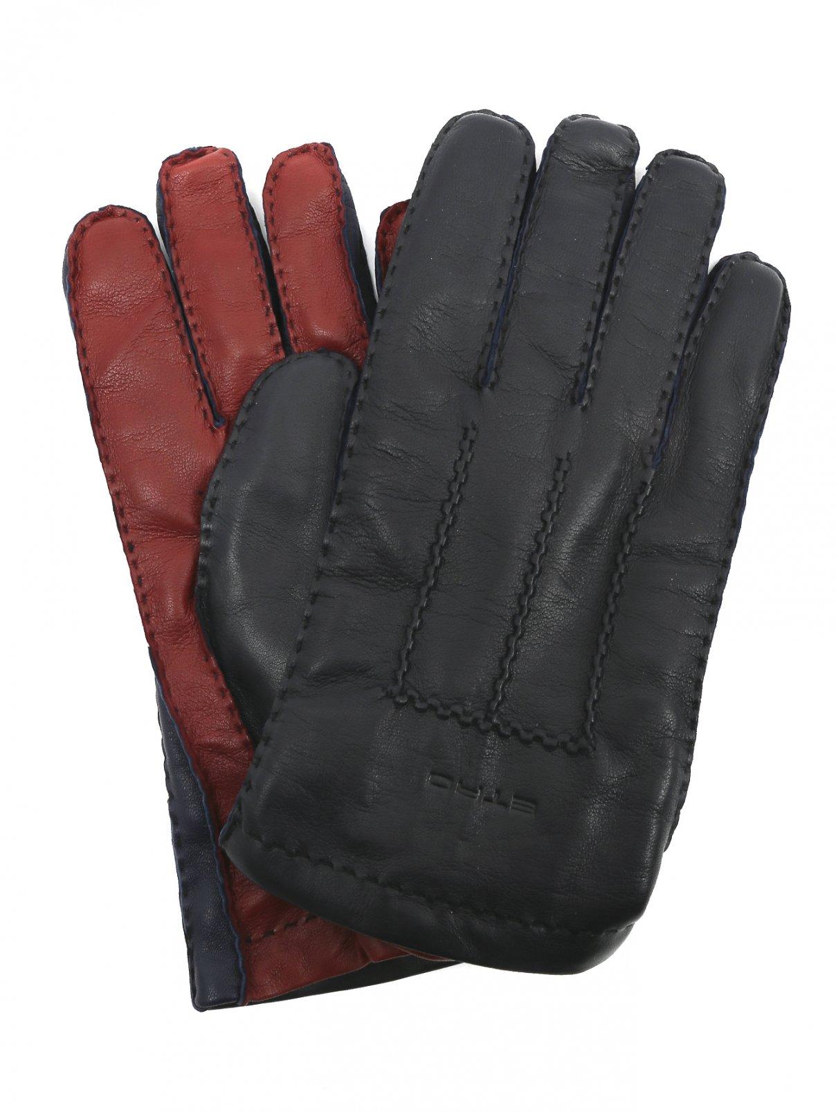 Перчатки из кожи Etro  –  Общий вид