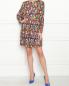Платье свободного кроя с узором Moschino Boutique  –  МодельОбщийВид